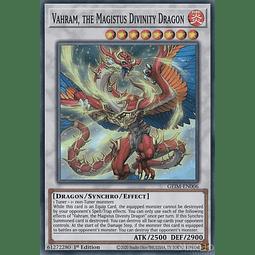 Vahram, the Magistus Divinity Dragon - GEIM-EN006 - Super Rare - 1st Edition