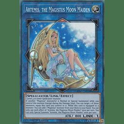 Artemis, the Magistus Moon Maiden - GEIM-EN008 - Ultra Rare - 1st Edition