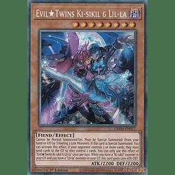 Evil Twins Ki-sikil & Lil-la - GEIM-EN017 - Collector's Rare - 1st Edition