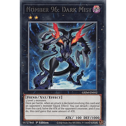 Number 96: Dark Mist - GEIM-EN052 - Rare - 1st Edition