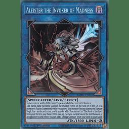 Aleister the Invoker of Madness - GEIM-EN053 - Ultra Rare - 1st Edition