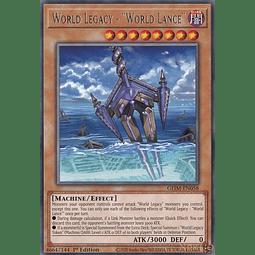 "World Legacy - ""World Lance"" - GEIM-EN058 - Rare - 1st Edition"