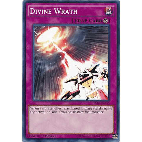 Divine Wrath - ys14-ena15 - Common 1st Edition