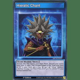 Hieratic Chant - SBCB-ENS03 - Common - 1st Edition