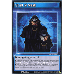 Spell of Mask - SBCB-ENS08 - Common - 1st Edition
