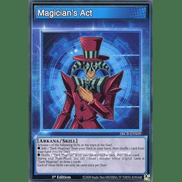 Magician's Act - SBCB-ENS09 - Common - 1st Edition