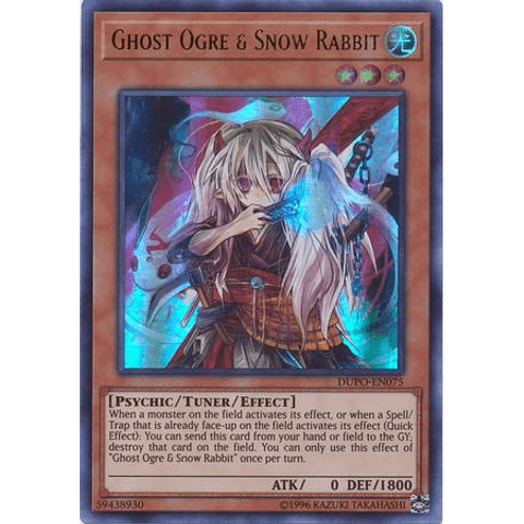 Ghost Ogre & Snow Rabbit - DUPO-EN075 - Ultra Rare Unlimited