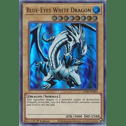 Blue-Eyes White Dragon (Green) - LDS2-EN001 - Ultra Rare 1st Edition