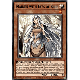 Maiden with Eyes of Blue - LDS2-EN006 - Common 1st Edition