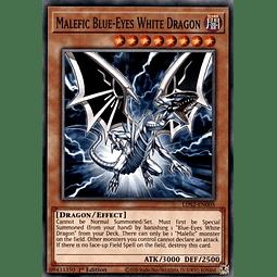 Malefic Blue-Eyes White Dragon - LDS2-EN005 - Common 1st Edition