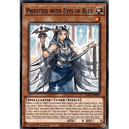 Priestess with Eyes of Blue - LDS2-EN007 - Common 1st Edition