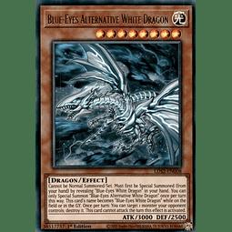 Blue-Eyes Alternative White Dragon (Blue) - LDS2-EN008 - Ultra Rare 1st Edition