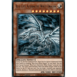 Blue-Eyes Alternative White Dragon (Green) - LDS2-EN008 - Ultra Rare 1st Edition