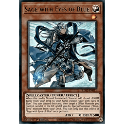 Sage with Eyes of Blue (Green) - LDS2-EN011 - Ultra Rare 1st Edition