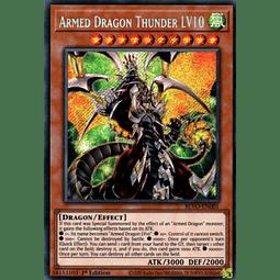Armed Dragon Thunder LV10 - BLVO-EN001 - Secret Rare 1st Edition