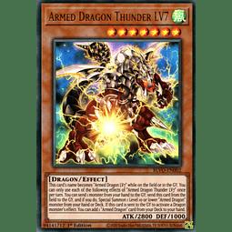 Armed Dragon Thunder LV7 - BLVO-EN002 - Ultra Rare 1st Edition