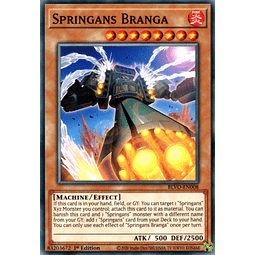 Springans Branga - BLVO-EN008 - Common 1st Edition
