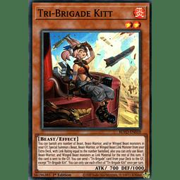 Tri-Brigade Kitt - BLVO-EN010 - Super Rare 1st Edition