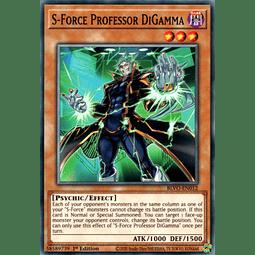 S-Force Professor DiGamma - BLVO-EN012 - Common 1st Edition