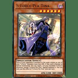 S-Force Pla-Tina - BLVO-EN015 - Ultra Rare 1st Edition