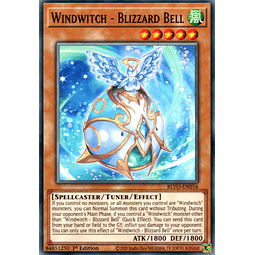 Windwitch - Blizzard Bell - BLVO-EN016 - Common 1st Edition
