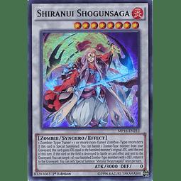 Shiranui Shogunsaga - MP16-EN212 - Ultra Rare 1st Edition