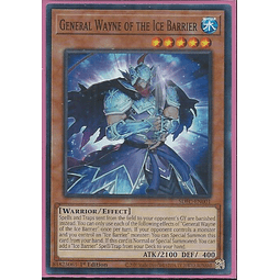 General Wayne of the Ice Barrier - SDFC-EN001 - Common 1st Edition