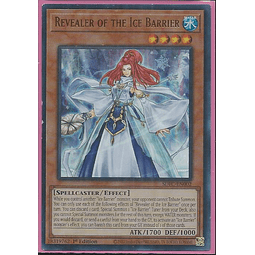 Revealer of the Ice Barrier - SDFC-EN002 - Ultra Rare 1st Edition