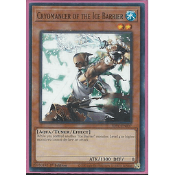 Cryomancer of the Ice Barrier - SDFC-EN007 - Common 1st Edition