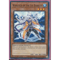 Warlock of the Ice Barrier - SDFC-EN010 - Common 1st Edition