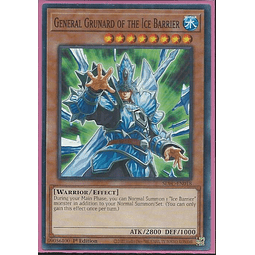 General Grunard of the Ice Barrier - SDFC-EN018 - Common 1st Edition