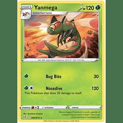 Yanmega - 2/72 - Rare Reverse Holo