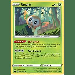 Rowlet - 6/72 - Common