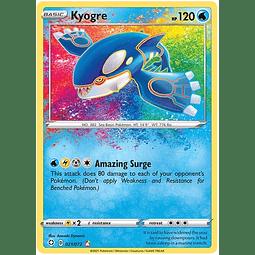 Kyogre - 21/72 - Amazing Rare