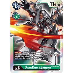 BT1-083 SR GranKuwagamon Digimon
