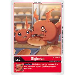 BT2-001 U Gigimon Digi-Egg