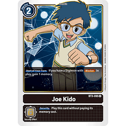 BT3-095 R Joe Kido Tamer