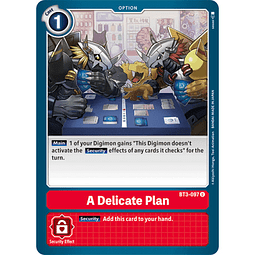 BT3-097 U A Delicate Plan Option