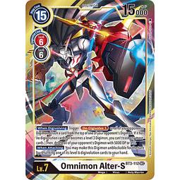 BT3-112AA SEC Omnimon Alter-S Digimon...