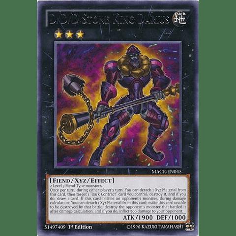 D/d/d Stone King Darius -macr-en045- Rare 1st Edition