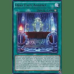 Odd-Eyes Advent - BOSH-EN066 - Rare 1st Edition