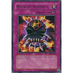 Mask of Restrict - LON-018 - Ultra Rare 1st Edition