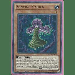 Sunvine Maiden - GFTP-EN015 - Ultra Rare 1st Edition