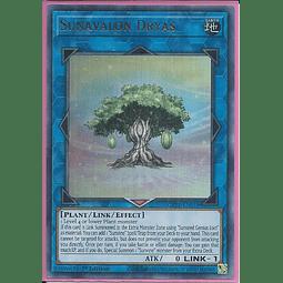 Sunavalon Dryas - GFTP-EN018 - Ultra Rare 1st Edition
