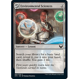Environmental Sciences 001/275