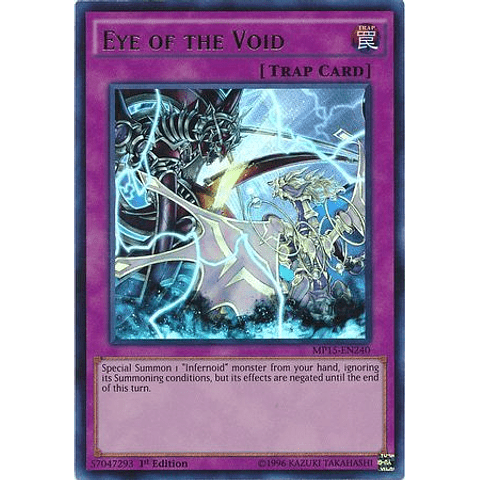 Eye Of The Void - Mp15-en240 - Ultra Rare 1st Edition