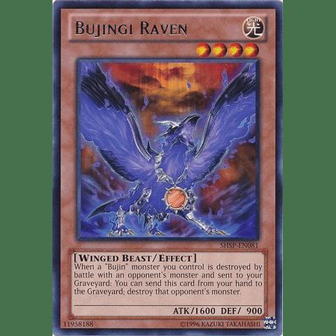 Bujingi Raven -shsp-en081- Rare Unlimited