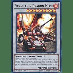 Vermillion Dragon Mech - DUDE-EN015 - Ultra Rare