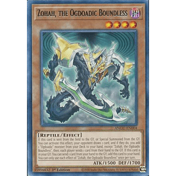 Zohah, the Ogdoadic Boundless - ANGU-EN004 - Rare 1st Edition