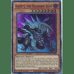 Aleirtt, the Ogdoadic Dark - ANGU-EN006 - Super Rare 1st Edition